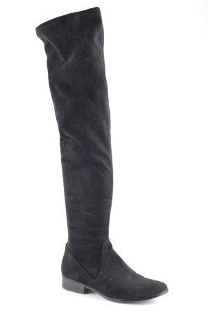Aldo Kniehoge laarzen zwart elegant