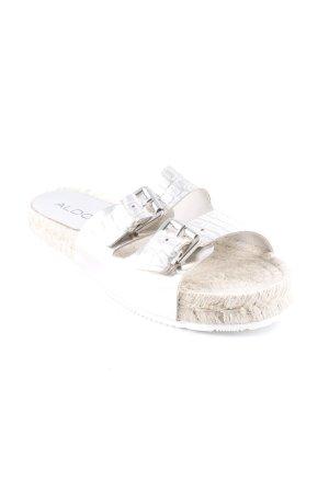 Aldo Scuffs silver-colored-oatmeal casual look