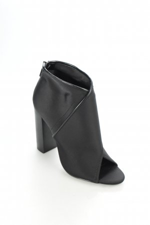 Aldo Peeptoe-Stiefeletten schwarz Party-Look