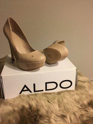 Aldo Platform Pumps multicolored imitation leather