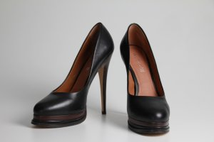 Aldo Plateauzool pumps zwart