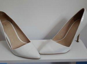 Aldo Pumps, Gr. 39, weiß , hoher NP Wedding shoes