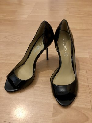 Aldo Peep Toe Pumps zwart