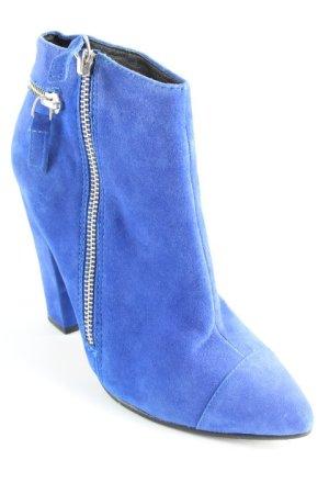 Aldo Reißverschluss-Stiefeletten blau extravaganter Stil