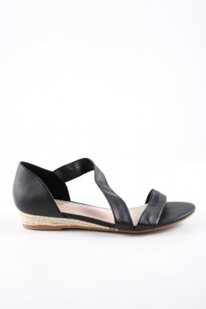 Aldo Strapped Sandals black casual look