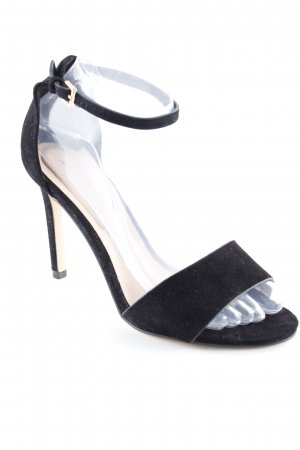 Aldo Strapped High-Heeled Sandals black casual look