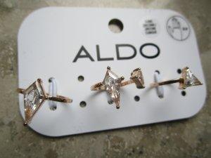 Aldo Ringeset 3 Goldrahmen Neu