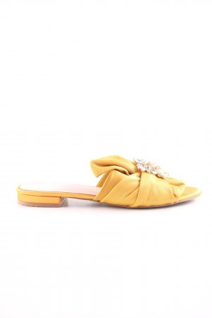 Aldo Sabots gold orange elegant
