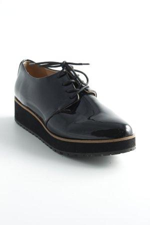 Aldo Zapatos brogue negro-beige look «Brit»
