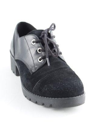 Aldo Zapatos brogue negro look casual