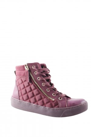 Aldo Lace-Up Sneaker purple athletic style