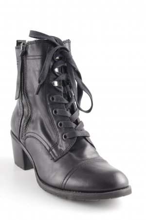 Aldo Lace-up Boots black casual look
