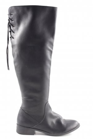 Aldo Lace-up Boots black simple style
