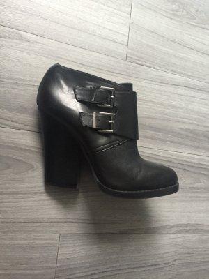 ALDO Stiefeletten Leder 39 NEU schwarz