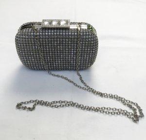 Aldo Borsa clutch argento