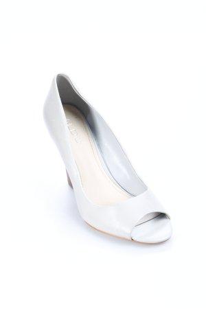 Aldo Wedges Sandaletten graugrün Casual-Look