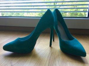 Aldo High Heels multicolored suede