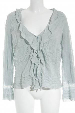 Aldomartins Cardigan himmelblau Casual-Look