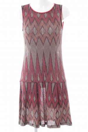 Aldomartins Stretch Dress abstract pattern casual look