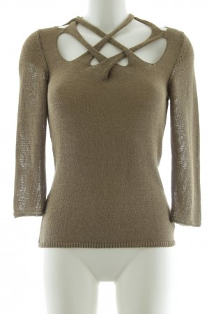 Aldomartins Knitted Sweater khaki casual look