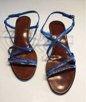 Alessandro Bonciolini Strapped Sandals brown-blue