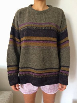 Alessandro Magna Oversized Woll-Pullover, Alpaca, Gr. M