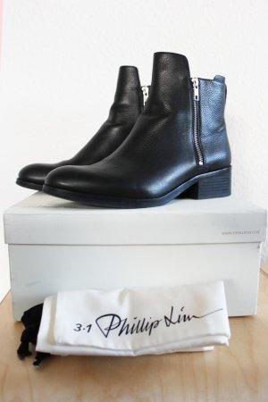 3.1 Phillip Lim Low boot noir cuir
