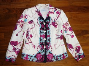Alexander Sweat Blazer multicolored silk