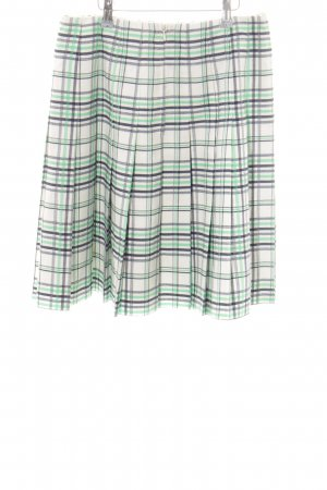 Alexander Plaid Skirt check pattern casual look