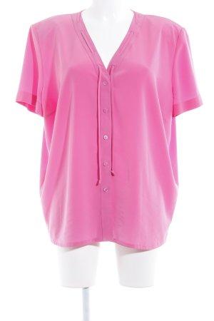 Alexander Short Sleeved Blouse pink casual look