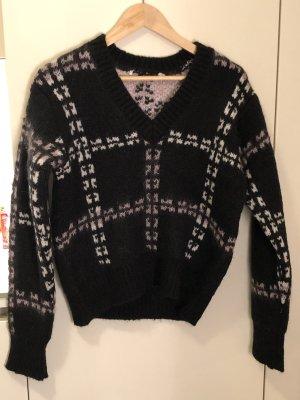 Alexander McQueen Pull tricoté noir
