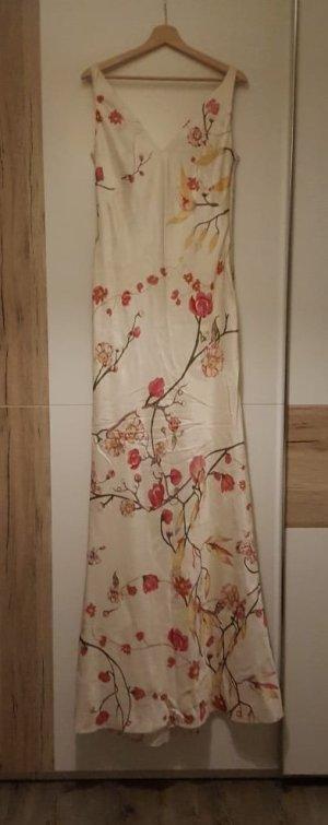 Alexander McQueen Chiffon jurk veelkleurig Zijde