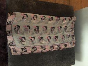 Alexander McQueen Foulard en soie multicolore