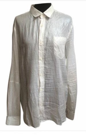 Alexander McQueen Formal Shirt white-silver-colored cotton