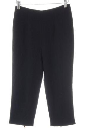 Alexander McQueen Pantalone Capri nero stile casual