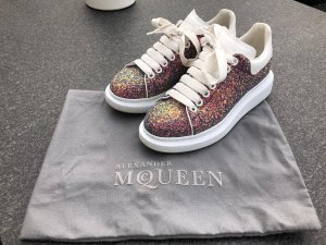 Alexander McQueen Lace-Up Sneaker multicolored