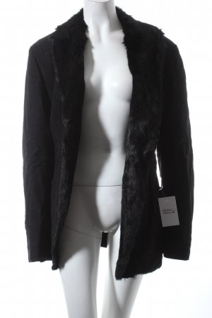 Alexander McQueen Felljacke schwarz Elegant