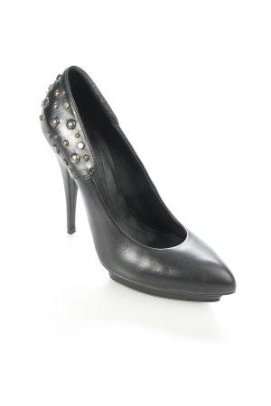 Alexander McQueen High Heels schwarz Nieten-Detail