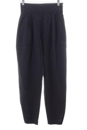 Alexander McQueen Hoge taille broek zwart zakelijke stijl