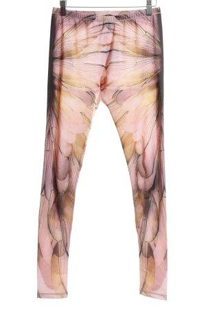 Alexander McQueen Leggings motivo floreale stile atletico
