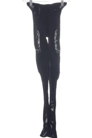 Alexander McQueen Leggings negro estilo clásico