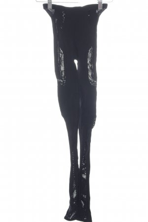 Alexander McQueen Leggings schwarz klassischer Stil