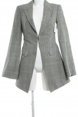 Alexander McQueen Long-Blazer Glencheckmuster Business-Look