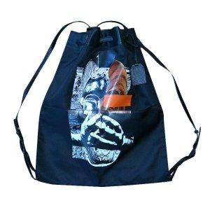 Alexander McQueen Oracle Backpack, Rucksack, Schwarz, XL