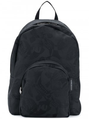 Alexander Mcqueen Printed Jacquard Backpack