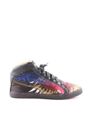 Alexander McQueen / Puma High Top Sneaker abstraktes Muster Casual-Look