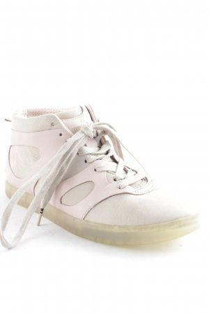 Alexander McQueen / Puma Lace Shoes beige-dusky pink casual look