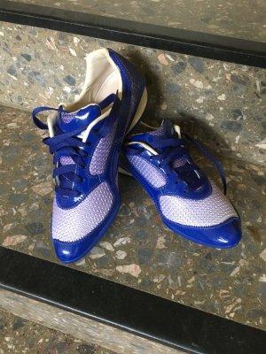 Alexander Mcqueen puma Sneakers  aus Strick und Leder