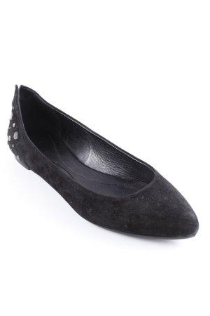 Alexander McQueen Slipper schwarz Elegant