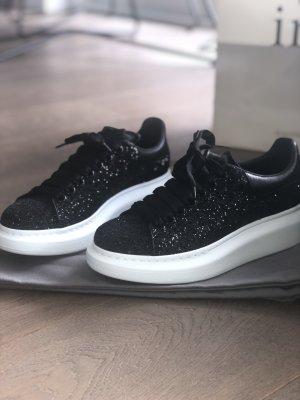 Alexander McQueen Sneakers met veters zwart